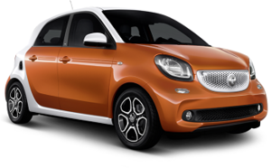 alquiler smart forfour