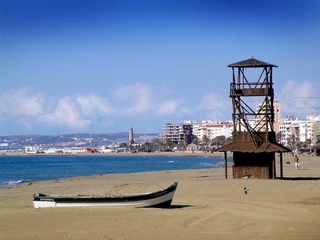 Estepona, plage
