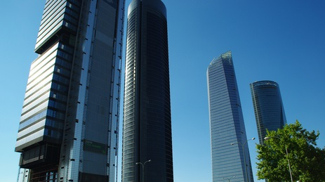 Cuatro Torres Business Area de Madrid