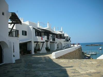 Maisons blanches à Minorque