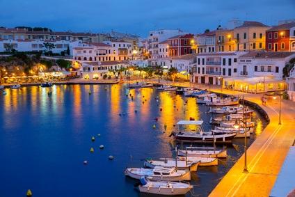 port à Minorque