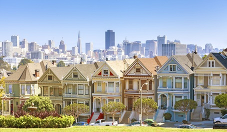 Alamo Square en San Francisco, California