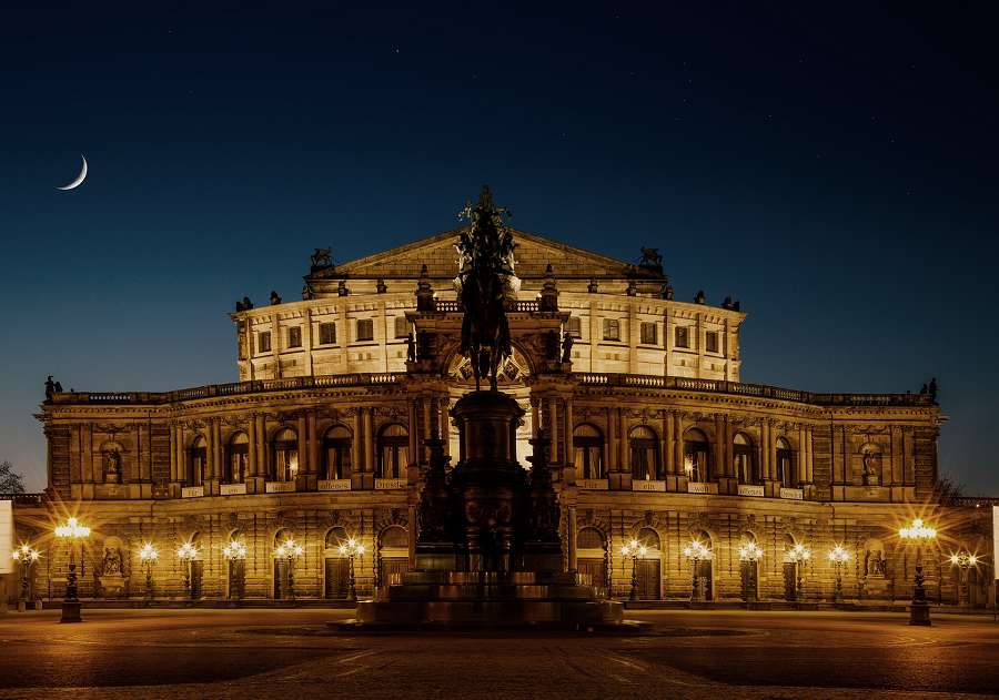Semperoper en Dresden, Alemania