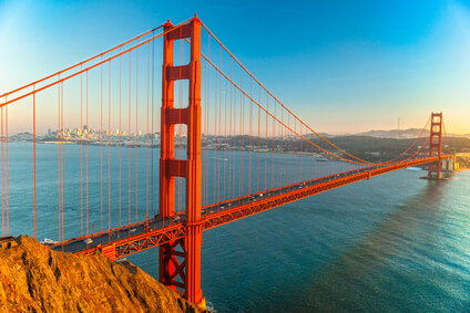 Golden Gate Bridge en San Francisco, California