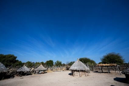 Angola - African village