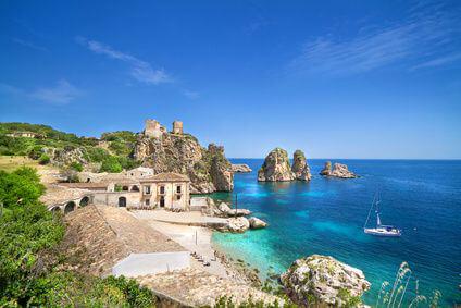 Italien - Sizilien K�ste