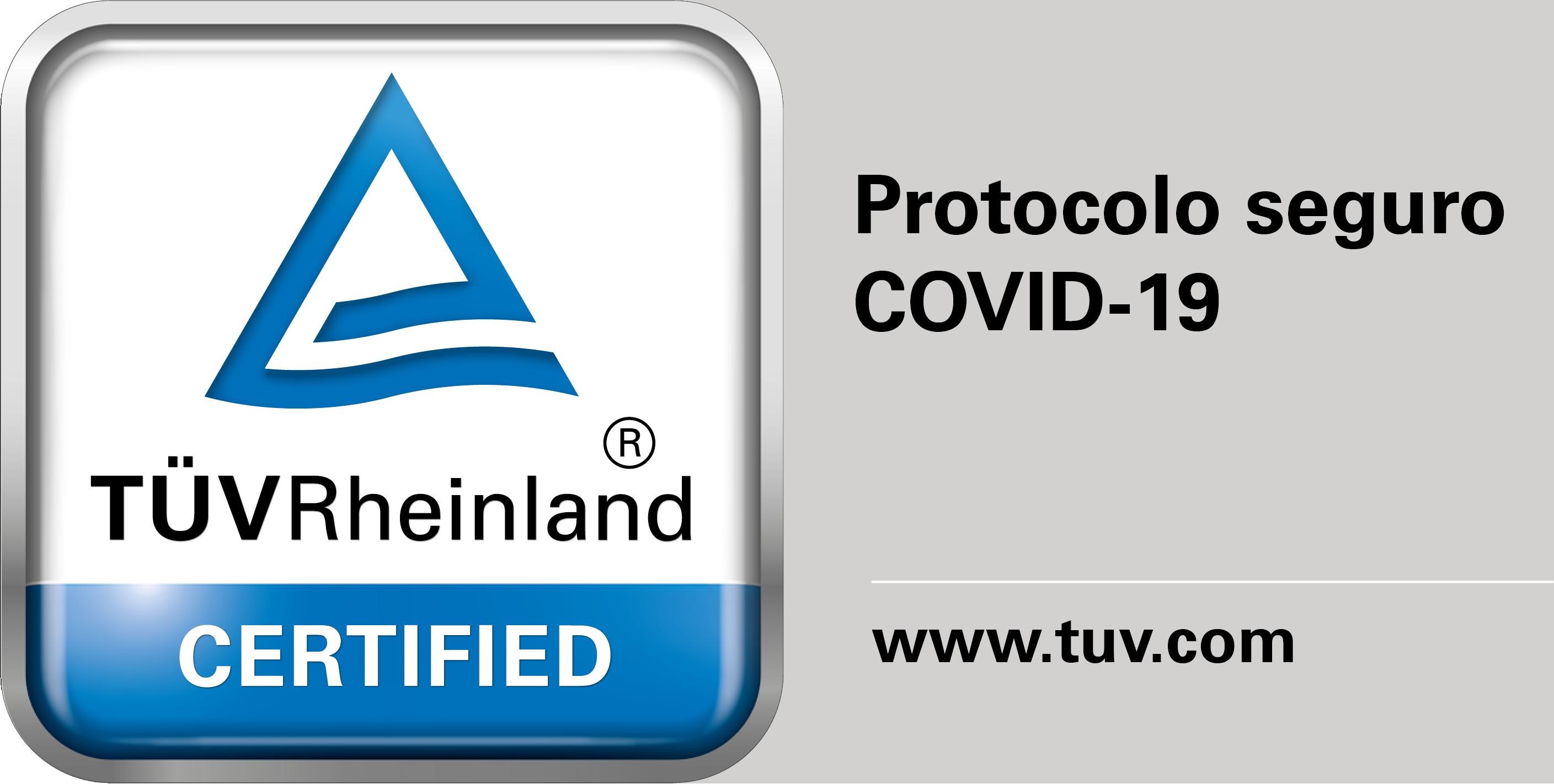 Certificado Protocolo Seguro COVID-19